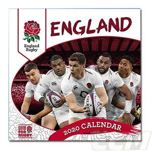 【予約ECM10】【国内未発売】イングランド代表 RFUラグビー 2020年 カレンダー【ラグビー/England/RUGBY/ラグビー】ECM10