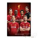 【国内未発売】ECM10リバプール 2020 オフィシャル A3壁掛けカレンダー(ポスターサイズ)【プレミアリーグ/Liverpool/…