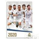 【国内未発売】ECM10レアルマドリード 2020 オフィシャル A3壁掛けカレンダー(ポスターサイズA3)【リーガエスパニョー…