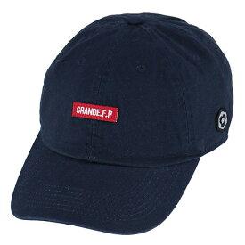 GRANDE WASHED TWILL ベースボールキャップ ネイビー【サッカー/グランデ/フットサル/サポーター/帽子/CAP】