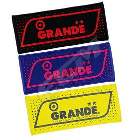【SALE25%OFF】【GS018】GRANDE DOT フェイスタオル【グランデ/サッカー/フットサル/サポーター/タオル】ネコポス対応可能