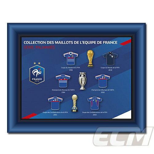 【予約FFF19】【国内未発売】フランス代表 オフィシャルグッズ キーリング ユニフォームピンズセット(6個)【サッカー/ワールドカップ/ムバッペ/グリーズマン/ピンズ】