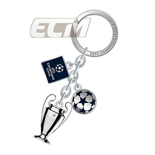 【国内未発売】チャンピオンズリーグ トロフィーキーリングチャーム【UEFA公式ライセンス/サッカー/Champions League/ビッグイヤー】ネコポス対応可能 UCL01
