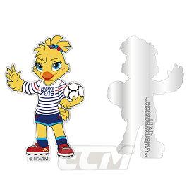 【SALE50%OFF】【国内未発売】FRA19 ピンズFIFA 女子ワールドカップ 2019 フランス大会 大会マスコット ピンズ【サッカー/なでしこジャパン/World Cup/日本代表】ネコポス対応可能