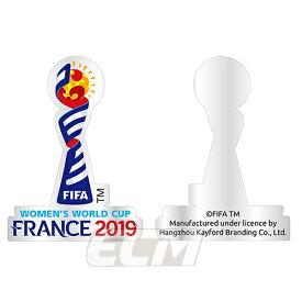 【SALE20%OFF】【国内未発売】FRA19 ピンズFIFA 女子ワールドカップ 2019 フランス大会 大会エンブレム ピンズ【サッカー/なでしこジャパン/World Cup/日本代表】ネコポス対応可能