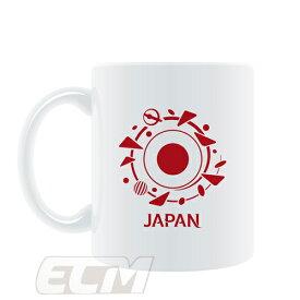【SALE50%OFF】【国内未発売】FRA19 マグカップ 日本FIFA 女子ワールドカップ 2019 フランス大会 マグカップ 日本【サッカー/なでしこジャパン/World Cup/日本代表/MUG】