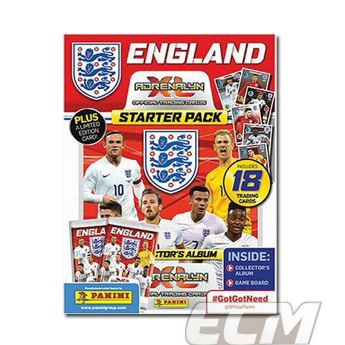 【予約PAN01】PANINI Adrenalyn XL イングランド代表 2016 スターターパック【サッカー/ユーロ2016/EURO2016/トレカ/カード】