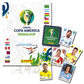 【国内未発売】PANINI COPA AMERICA 2019 コパ・アメリカ ブラジル大会 公式ステッカー【サッカー/コレクション/COPA AMERICA/パニーニ】