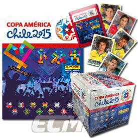"""【予約ECM18】PANINI """"Copa America 2015 Chile"""" 南米選手権 チリ大会【サッカー/ブラジル代表/アルゼンチン代表/トレカ】"""