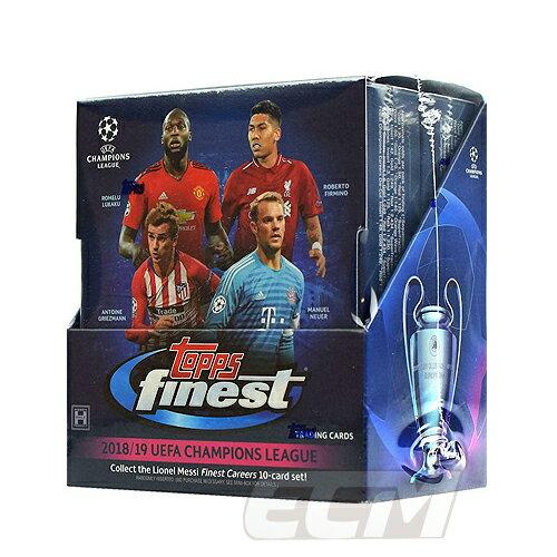 【予約WUS01】Topps 18-19 Finest Champions League サッカーカード【サッカー/トレカ/高級メモラビリアカード/チャンピオンズリーグ】