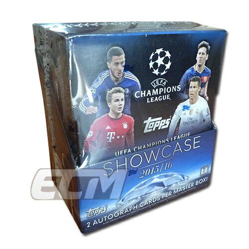 """【予約WUS01】TOPPS UEFA Champions League """"SHOW CASE"""" 15-16シーズン トレーディングカード【サッカー/チャンピオンズリーグ/トレカ】"""