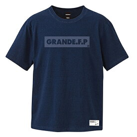【SALE25%OFF】【GS018】GRANDE DYE.PRINTO INDIGO Tシャツ ダークインディゴ【サッカー/フットサル/グランデ/サポーター/GFPE218002】ネコポス対応可能