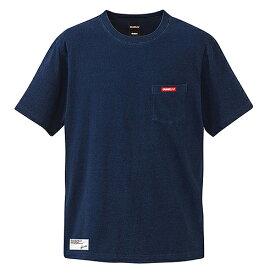 【SALE25%OFF】【GS018】GRANDE EMBROID INDIGO PK Tシャツ ダークインディゴ【サッカー/フットサル/グランデ/サポーター/GFPE218003】ネコポス対応可能