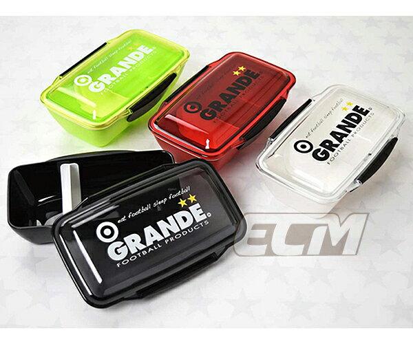 【GRNL01】GRANDE ドーム型ランチボックス Mサイズ【グランデ/サッカー/フットサル/サポーター/弁当箱】GRN17
