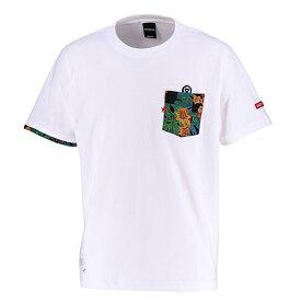 【SALE25%OFF】【GS018】GRANDE ALOHA ポケットTシャツ ホワイト【サッカー/フットサル/グランデ/サポーター/GFPH18004】ネコポス対応可能