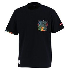 【SALE25%OFF】【GS018】GRANDE ALOHA ポケットTシャツ ブラック【サッカー/フットサル/グランデ/サポーター/GFPH18004】ネコポス対応可能