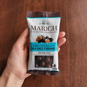 マーリッチ ダークチョコ シーソルトキャラメル 60g フェアトレード チョコレート fairtrade MARICH CHOCOLATES[正規輸入品]