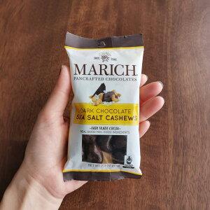 マーリッチ ダークチョコ シーソルトカシュー 65g フェアトレード チョコレート fairtrade MARICH CHOCOLATES[正規輸入品]