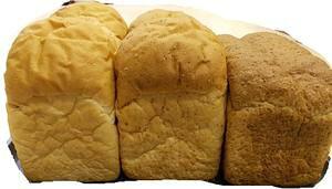 無添加減塩食パン・プレーン食パン 全粒粉食パン ライ麦パン 3本セット
