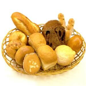 むーにゃんお試しセット【楽ギフ_のし】食パン 無添加 パン メロンパン ベーグル フランスパン くりーむぱん 冷凍 無添加パン 健康 パン 詰め合わせ チョコロール マドレーヌ クルミ オレン