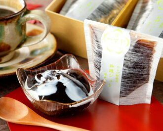 Kaga raw jelly ♪ ♪ ranking won 1st place! Warabimochi powder coffee jelly 8 pieces / re-stock and souvenir gift cake / suites / dessert celebration / ranking gifts