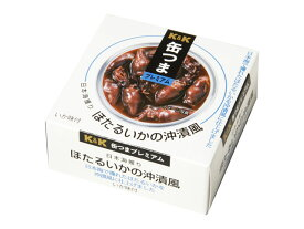 K&K 国分 缶詰 缶つま 日本海獲り ほたるいかの沖漬風 70g缶 【★5,500円以上送料無料】