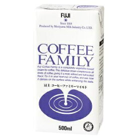 【送料無料】冨士 コーヒーファミリーマイルド 500mlx12本 コーヒー ミルク フレッシュ
