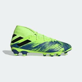 ★☆あす楽対応☆★ adidas (アディダス) 20SU ネメシス 19.3 HG/AG サッカー スパイク メンズ フットウェアホワイト/コアブラック/シグナルグリーン HJ865 FV3990