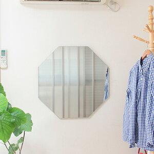 鏡壁掛け八角八角形ミラー幸運おしゃれ姿見全身占い風水賃貸アパート玄関クローゼットリビングDIY北欧可愛い美容室ヘアサロン穴コーディネートアパレルスタイル通販かわいいオシャレインスタinstagram送料無料