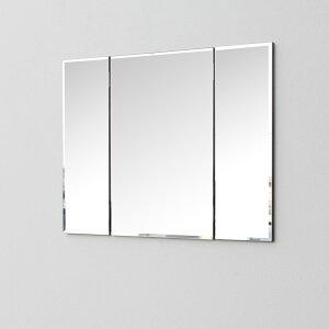 ドレッサーコンパクト壁掛け三面鏡鏡賃貸アパートマンション三面可愛いおしゃれ北欧モダンメイク省スペースナチュラル玄関クローゼット国産日本製鏡加工場直販【壁掛け三面鏡】
