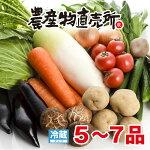 伊豆村の駅新鮮獲れたてお野菜詰合せ(5〜7品)