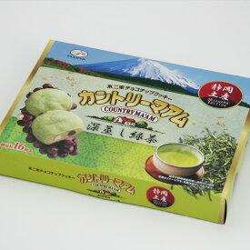 不二家チョコチップクッキー カントリーマアム 深蒸し緑茶16枚【チョコチップ】【クッキー】【緑茶】【カントリーマアム】【不二家】
