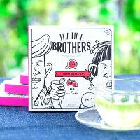 【TEATIMEBROTHERS】緑茶×いちごの香り