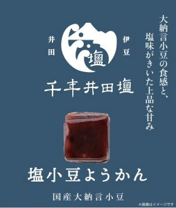 【ひとくちようかん】塩小豆ようかん
