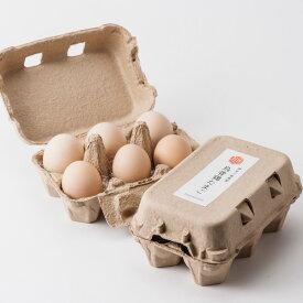 伊豆三島卵屋「鳥骨鶏のたまご」6個入り【たまご】【鳥骨鶏】【伊豆】【三島】【卵屋】