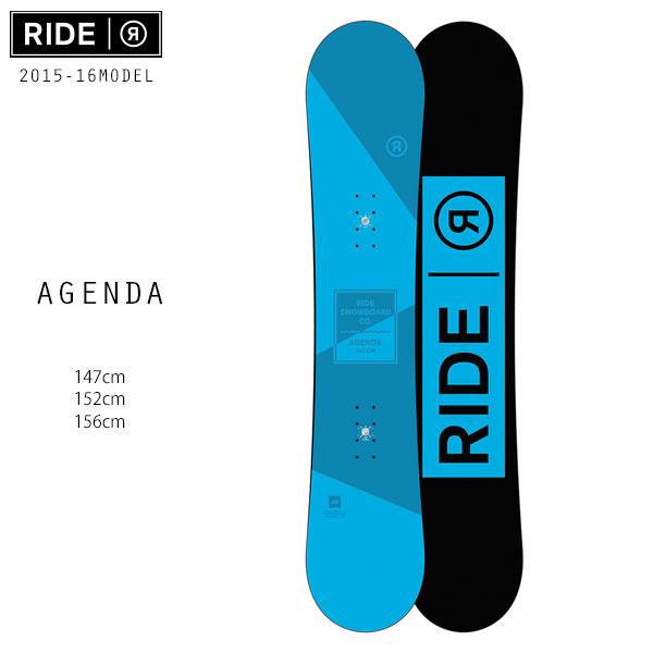 SALEセール 大特価 メンズ スノーボード RIDE ライド AGENDA アジェンダ 15-16モデル D1 K18