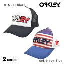 送料無料 メッシュキャップ OAKLEY オークリー FLAG MESH TRUCKER 911653JP DDS C28
