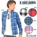 SALE セール 50%OFF メンズ 長袖シャツ DEAR LAUREL ディアローレル 14633201 DD3 J10