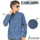 送料無料 SALE セール 50%OFF メンズ 長袖シャツ DEAR LAUREL ディアローレル 14633204 DD3 J10