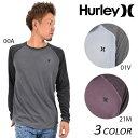 SALE セール 50%OFF メンズ 長袖 Tシャツ Hurley ハーレー MKT0005520 EE1 K14