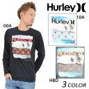SALE セール 50%OFF メンズ 長袖 Tシャツ Hurley ハーレー MTLS22440 EE1 K7