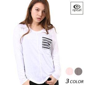 レディース 長袖 Tシャツ RIPCURL リップカール V03-051 F1S B10 【返品不可】