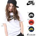 送料無料 レディース 半袖 Tシャツ NIKE SB ナイキエスビー SB DRI-FIT ロゴ 821947 EE1 A30