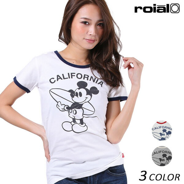 SALE セール 40%OFF レディース 半袖 Tシャツ roial ロイアル CO19G EE2 D5
