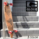 【数量限定】送料無料 クルージング ロングスケートボード GLOBE グローブ PINNER MARBLED BLACK 9.75インチ EE E3
