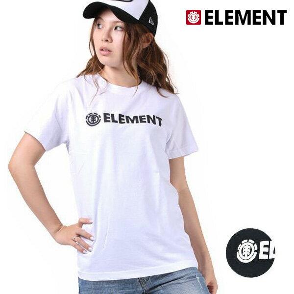 SALE セール 50%OFF レディース 半袖 Tシャツ ELEMENT エレメント AH023-208 F1S G1 【返品不可】