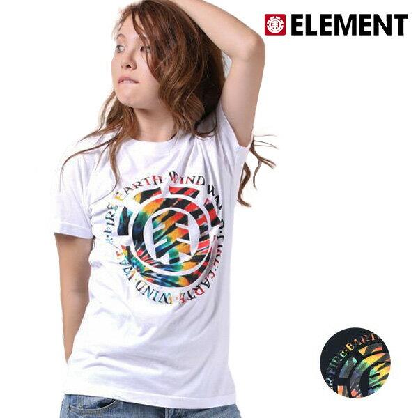 SALE セール 50%OFF レディース 半袖 Tシャツ ELEMENT エレメント AH023-209 F1S G1 【返品不可】