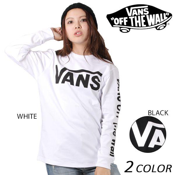 SALE セール 20%OFF レディース 長袖 Tシャツ VANS バンズ VA17FW-GT51MS EE3 I10