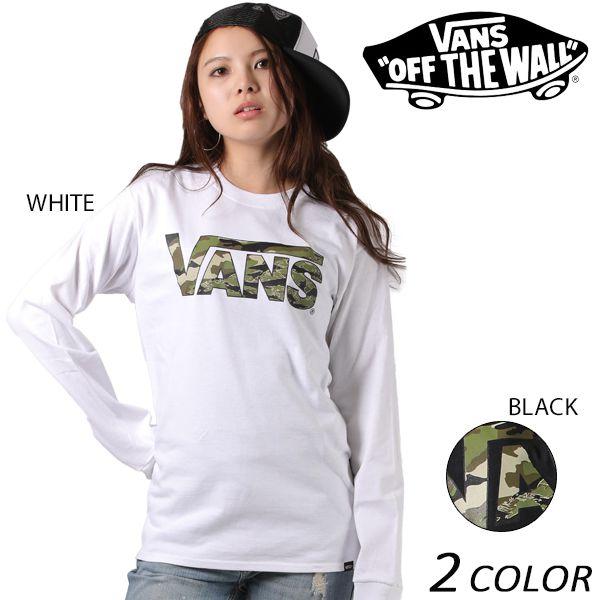 SALE セール 20%OFF レディース 長袖 Tシャツ VANS バンズ VA17FW-MT04 EE3 I10