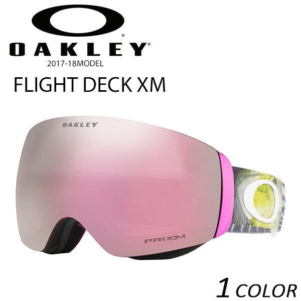 送料無料 SALE セール 10%OFF スノーボード ゴーグル OAKLEY オークリー FLIGHT DECK XM フライトデッキ アジアンフィット 17-18モデル レディース EE K11